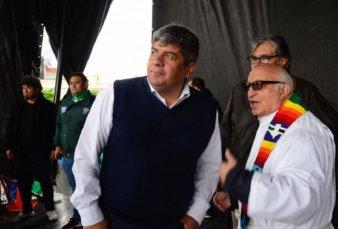 Pablo Moyano aseguró que la misa en Luján tuvo la venia del Papa Francisco