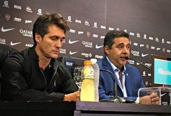 Oficial: Daniel Angelici confirmó que Guillermo Barros Schelotto no continuará como entrenador de Boca