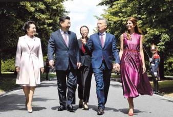 Macri y Xi Jinping relanzaron la relación bilateral con un pacto comercial hasta2023