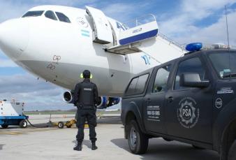 Militares y efectivos de la PSA podrán dar servicio de rampa en aeropuertos