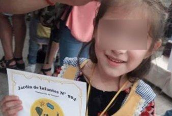 Murió Maite, la nena alcanzada por una bala perdida en Navidad