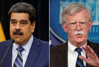 Maduro acusó a John Bolton de dirigir un plan para asesinarlo y amenazó con expulsar al encargado de negocios de EEUU