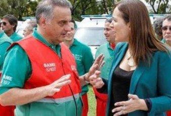 Vidal anunció la ampliación del SAME a cuatro municipios