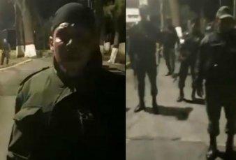 Represión en Caracas tras el alzamiento en un comando militar