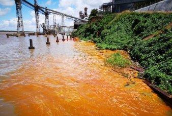 Se derramaron 1.000 toneladas de aceite vegetal sobre el Río Paraná