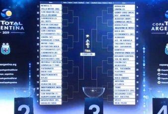 Se sorteó la Copa Argentina 2019