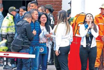 El terror pone en guardia a Colombia