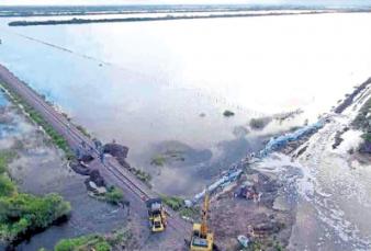 Tras la sequía, el drama de las inundaciones