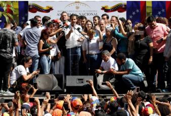 Venezuela: la oposición sale a la calle masivamente contra el nuevo mandato de Nicolás Maduro