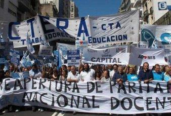 No arrancan las clases: CTERA confirmó el paro docente para el 6, 7 y 8 de marzo