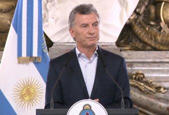 """Macri anunció medidas para """"aliviar la carga fiscal"""" de las Pymes"""
