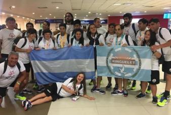 La delegación argentina cosechó 14 medallas en los Juegos Mundiales de las Olimpíadas Especiales