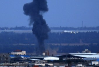 Israel bombardea la Franja de Gaza tras el disparo de un cohete