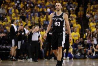 El Pibe de Oro: los Spurs rendirán homenaje a Manu Ginóbili retirando su camiseta