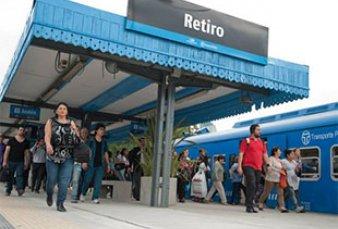 Reconstruyen casi desde cero la terminal del tren San Martín en Retiro