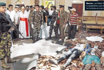 Día de terror con 207 muertos en Sri Lanka