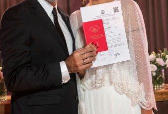 Jorge Rial agradeció a sus invitados por el dinero recaudado en su boda para una escuela de Misiones, ¿cuánto juntaron?