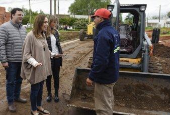 Vidal saca chapa con las obras viales y asegura que ya invirtió unos 38 mil millones de pesos
