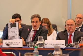 Ramos Padilla ordenó detener a un prefecto en la causa por espionaje