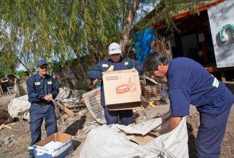 Una planta de reciclaje vecinal busca ser pionera en la provincia