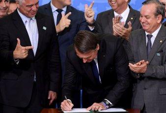 Jair Bolsonaro propone impunidad para toda persona que mate a un ladrón