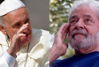 El Papa le envió un mensaje solidario a Lula da Silva