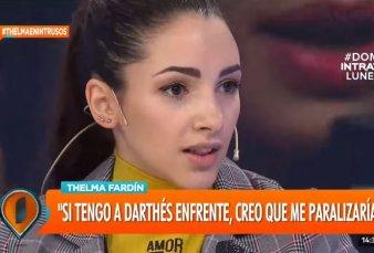 """Thelma Fardin y el video con el que denunció a Juan Darthés: """"Cuando lo grababa, estaba a las puteadas"""""""