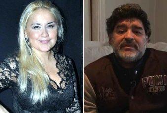 """Verónica Ojeda llegó al país tras su escandalosa pelea con Diego Maradona: """"A México no vuelvo más"""""""