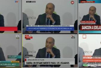 """Corte de luz en La Plata - Daniel Salvador: """"Los usuarios afectados no pagarán la tarifa este mes y se multará a la empresa"""""""