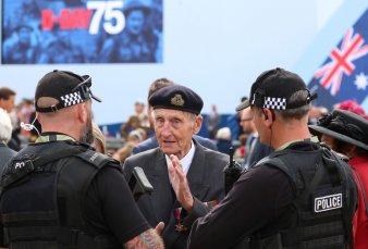 """""""Día D"""": arrancaron los homenajes al sacrificio y el coraje en el desembarco de Normandía"""