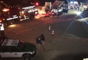 Derrumbe en una mina de Chile: tres personas quedaron atrapadas a 70 metros de profundidad