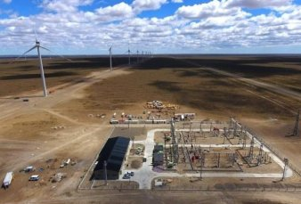 Santa Cruz. PCR inauguró el parque eólico más grande del país
