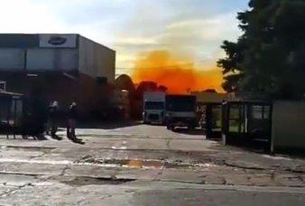 """Explosión y derrame en Villa Bosh - El municipio de Tres de Febrero informa que """"no hay riesgo de nada, esto está terminado"""""""