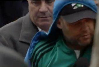 """""""El Pepo"""" al llegar a la comisaría de Chacomús: """"Estoy triste, no hice nada"""""""