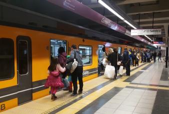Desde su extensión a Retiro, la línea E de subte tiene un 12% más de pasajeros