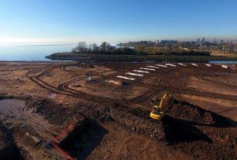 Tiro Federal: la nueva sede crece junto al río para la inauguración en 2020