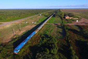 Belgrano Cargas: partió una formación con 100 vagones hacia Santa Fe