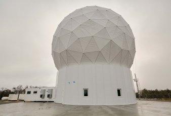 """Ya funciona el """"faro del fin del mundo"""" para monitoreo de satélites"""