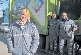 Debutaron en La Plata las primeras mujeres recolectoras de residuos