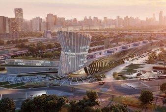 Con parques y un hotel, proyectan una nueva terminal de Retiro