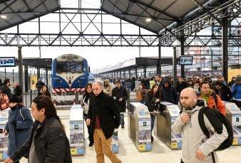 La cabecera del tren San Martín reabre renovada
