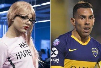 """La Queen: """"Carlos Tévez es un desclasado y homofóbico"""""""