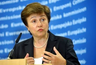 Kristalina Georgieva reemplazará en el FMI a Christine Lagarde