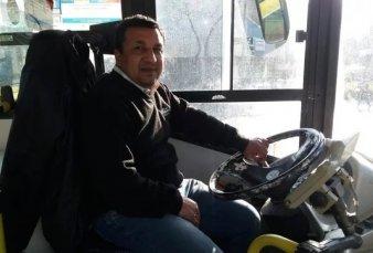 Roberto Galarza, el 10 de Diego Maradona en Racing que hoy es colectivero