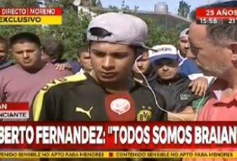 """Alberto Fernández se solidarizó con un fiscal de mesa discriminado y él lo agradeció: """"Me llegó al corazón lo que dijo"""""""