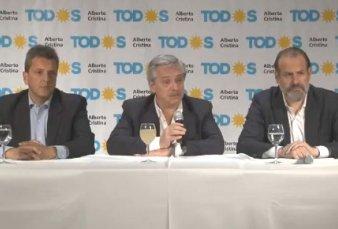 """Alberto Fernández: """"Si el resultado les es adverso, que Mauricio Macri no se enoje como la última vez"""""""
