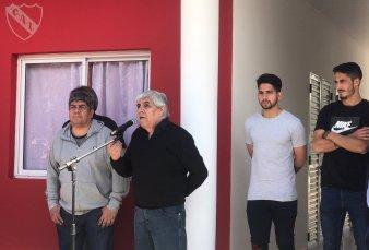 """Hugo Moyano inauguró obras en Independiente - """"Vamos a seguir siendo el Rey de Copas"""""""