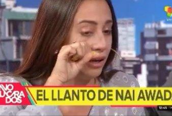 """Elecciones 2019 - Naiara se quebró en vivo: """"Yo soy Awada, es un quilombo lo que vivo""""."""