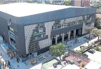 El Movistar Arena se prepara para abrir sus puertas