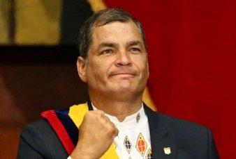 """Rafael Correa:  """"Lo de Alberto Fernández, Cristina Kirchner y Axel Kicillof fue un vendaval de esperanza"""""""